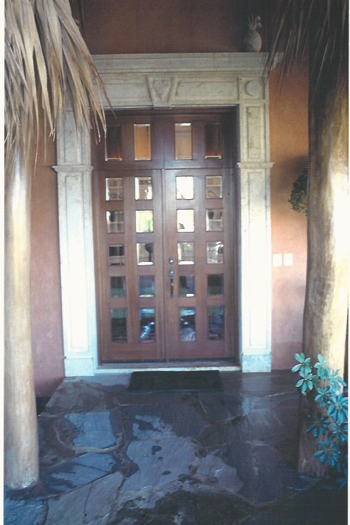 Pta. Cana-Entry Door and Frame